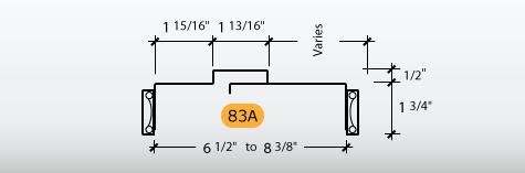 Adjustable - Frame Profile (83A)