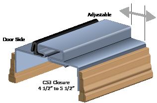 CAD Adjustable Kerfed Frame Details 3D