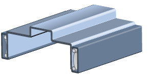 CAD Classic Frame Overview 3D drawing