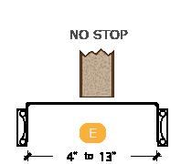 CAD Drawing for Pocket Door Trim Kit