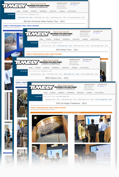 Timely Industry Events Gallery Landing Page image