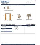 PDF Image Thumb Pocket Door Trim Kit - Converging
