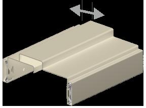 3D Drawing for Adjustable Steel Door Frames