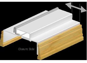 3D Drawing for Adjustable Kerfed Steel Door Frames
