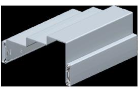 3D Drawing for Double Egress Steel Door Frames