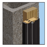 FRAMING: Masonry Application - Sub Frame - Wood Stud